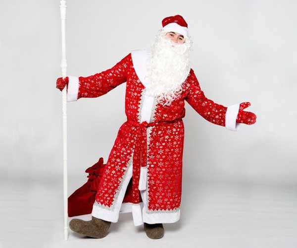 Костюм Деда Мороза Звездный.